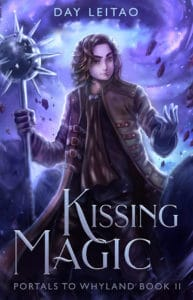 YA fantasy novel Kissing Magic
