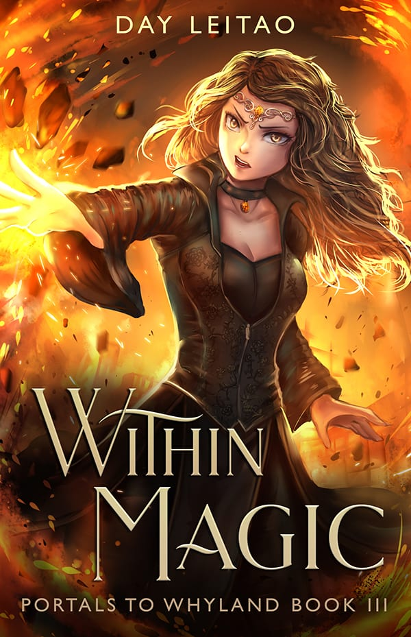 within magic YA novel