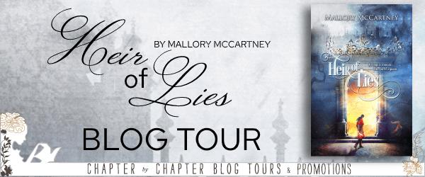 Heir of Lies by Mallory McCartney blog tour