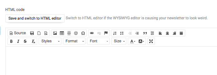 Sendy Email Builder