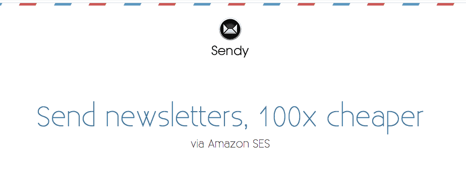 Sendy newsletter