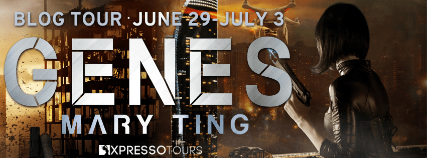 Genes (ISAN book 33) by Mary Ting tour banner