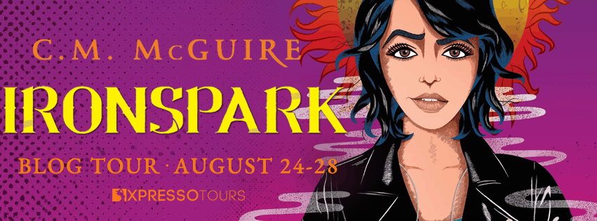 C. M. McGuire on LGBTQ+ representation in YA, writing advice, the writing of Ironspark + giveaway