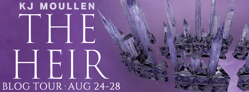 Author KJ Moullen on the writing for The Heir + Giveaway
