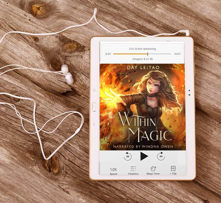 Within Magic YA fantasy audiobook