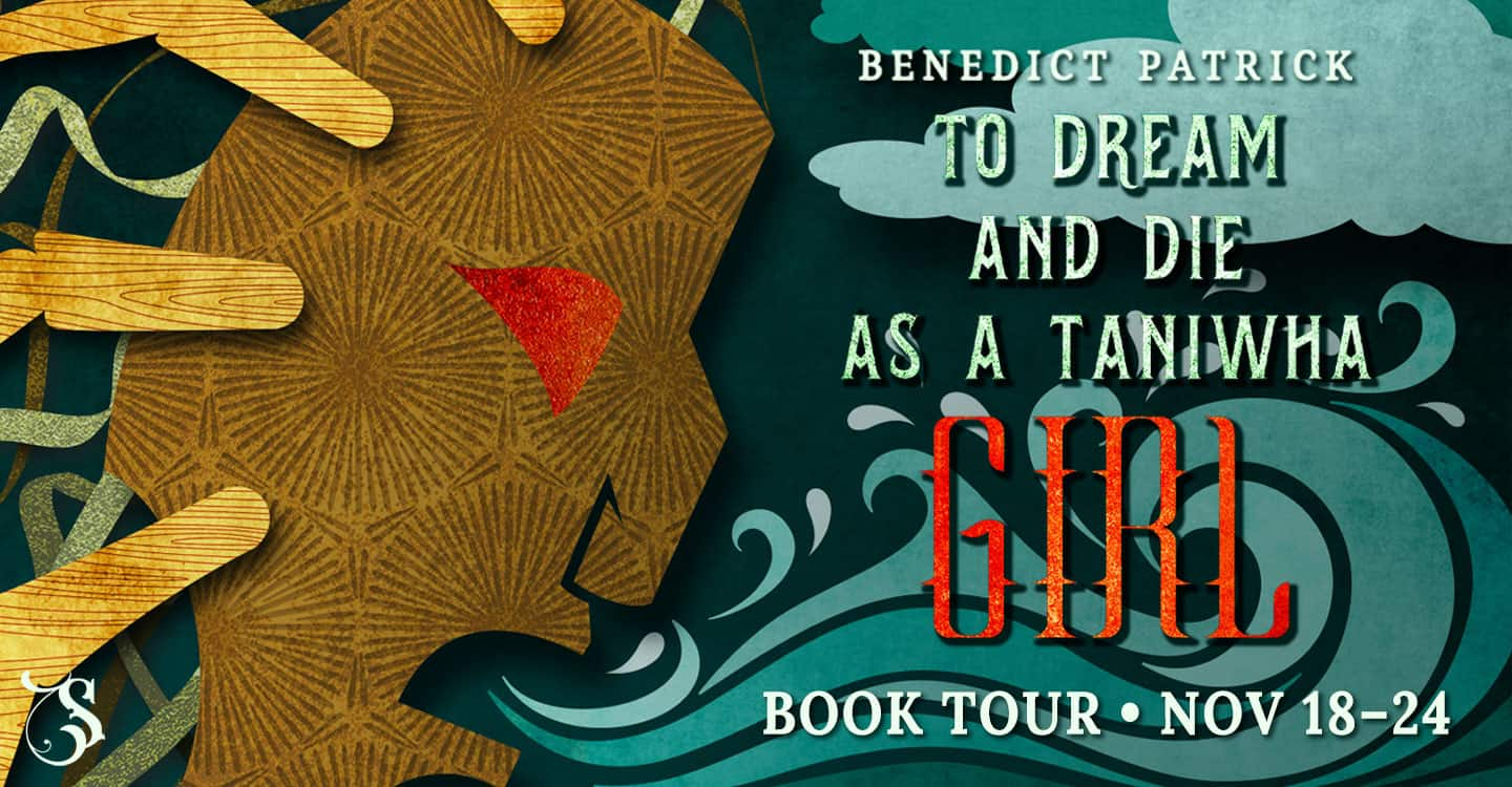 Author Benedit Patrick on his writing - To Dream and to Die as a Taniwha Girl