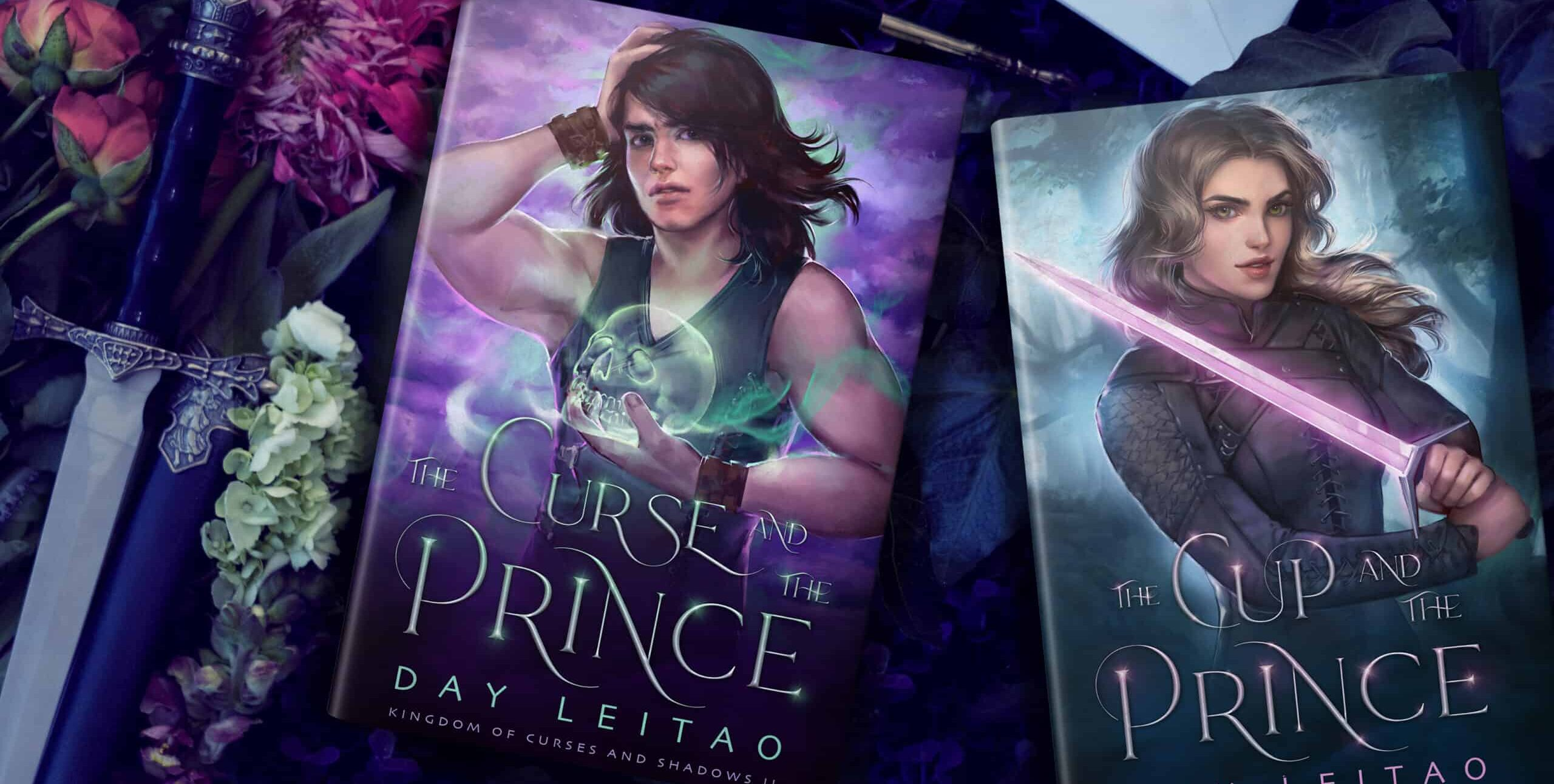 The Curse and the Prince, book 2 in Kingdom of Curses and Shadows, is out!