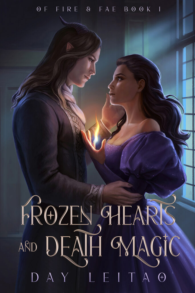 Frozen Hearts and Death Magic cover