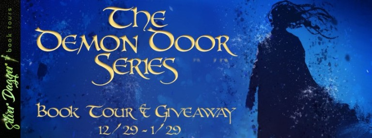 the demon door series banner