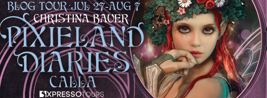 Calla YA novel by Christina Bauer tour banner