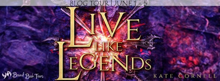 Live Like Legends tour banner