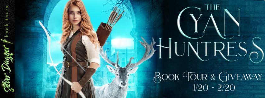 the cyan huntress banner