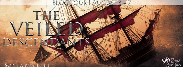 The Veiled Descendants tour banner