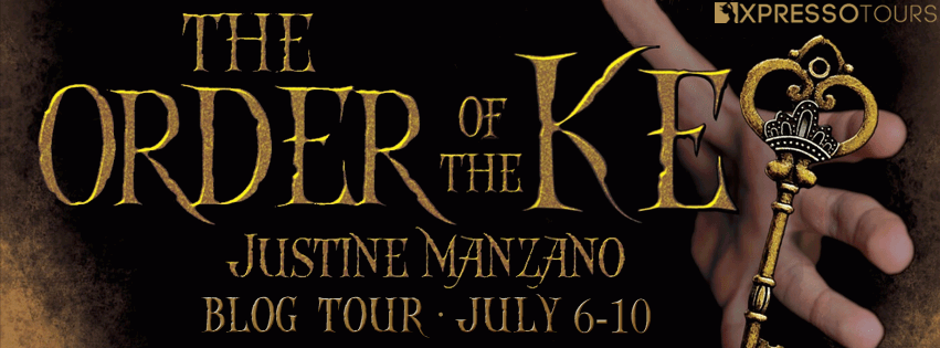 The Order of the Key YA novel banner