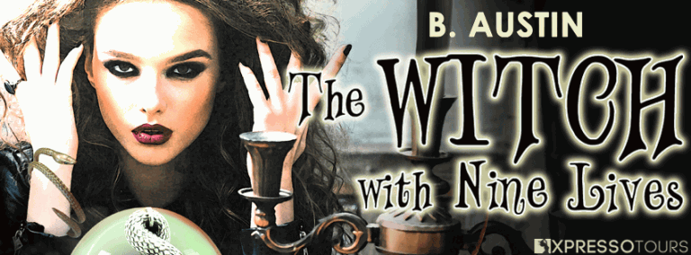 The Witch With Nine Lives Reveal Banner