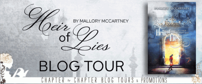 Heir of Lies by Mallory McCartney blog tour